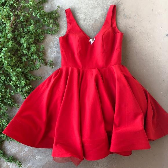 0d0f1053d2e3 Mac Duggal Dresses & Skirts - Ieena Mac Duggal Red Fit & Flare Dress